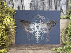 Deathshead Moth Print 8x10 Death's Head Moth Art / image 5 Wiccan Decor, Pagan Altar, Moon Witch, Pagan Witch, Deaths Head Moth, Wiccan Art, Witchcraft Supplies, Wiccan Jewelry, Witch Aesthetic