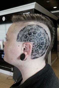 Bald head tattoos you have to see ink pinterest head for Anthony french tattoo