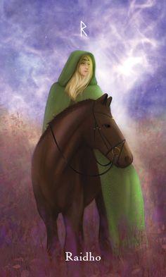 Vikings, Mythology, Tarot, Mystic, Concept, Fantasy, Adventure, Tiffany, Vintage