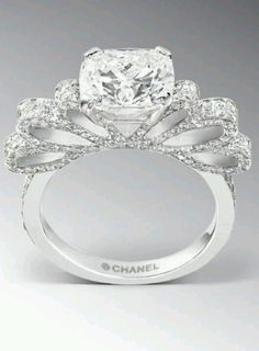 Chanel wedding ring - I am beyond in love with this ring.  BEYOND!!!