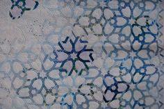 filigree quilt #blue #japanese #quilt #modern