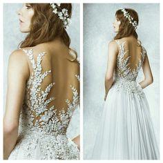 """""""@zuhairmuradofficial at it again... #weddingdress #master #love"""""""