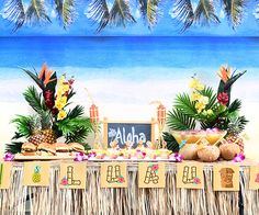 Turn your backyard into a Hawaiian paradise with these fun party ideas!