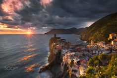 Vernazza - cinque terre - Italy by İlhan Eroglu on 500px