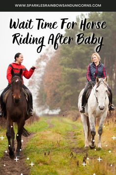 I know most are eager to get back into the saddle when they are pregnant if they are waiting. But trust me you will want to wait after you have your baby. Read this post to find out why and how long you should wait. Before Baby, After Baby, Find A Babysitter, Mom Brain, Getting Back In Shape, Family Doctors, Psychology Today, Having A Baby, Horseback Riding