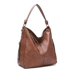 7addc6817329 DDDH New Vintage Hobo Handbags Shoulder Bags Durable Leather Tote Messenger  Bags Bucket Bag For Women Ladies Girls(Brown)