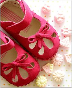 Hot Pink Shoes