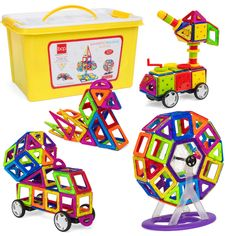 HALFTOYS Jurassic World Jurassic Park Toys Adorable Dinosaur Toys Magnetic Pu...