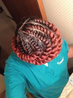 Gorgeous Flat Twist Protective Style - http://community.blackhairinformation.com/hairstyle-gallery/natural-hairstyles/gorgeous-flat-twist-protective-style/  #naturalhairstyles