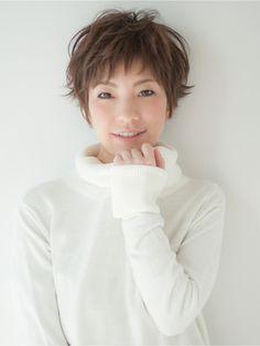 ヴェリーテ(Verite) 【verite】柔らかアッシュベージュ&外はねショート☆