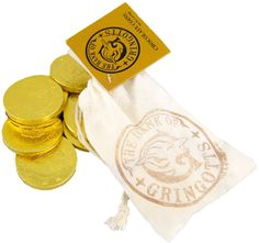 Wizarding World Harry Potter Gringotts Bank Chocolate Coins Bag Diagon Alley NEW http://www.bonanza.com/listings/Wizarding-World-Harry-Potter-Gringotts-Bank-Chocolate-Coins-Bag-Diagon-Alley-NEW/185528717