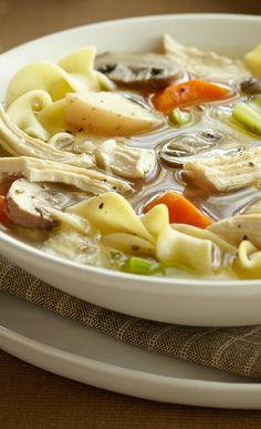 Easy + Hearty Chicken Soup