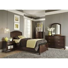 Darby Home Co Loveryk Storage Platform Customizable Bedroom Set