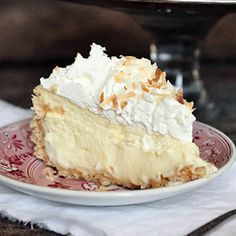 recipe image Kinds Of Desserts, Just Desserts, Delicious Desserts, Yummy Food, Coconut Cheesecake, Cheesecake Recipes, Cake Cookies, Cupcake Cakes, Cupcakes