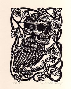 Skull Headed Bird by Horse & Hare — BELOW