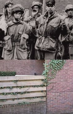 Koos Winkelman, an avid traveler and photographer, has made another great photographic Then & Now tribute, this time related to the Battle of Arnhem. Botanical Gardens Near Me, Growing Vegetables In Containers, Operation Market Garden, Organic Market, Ww2 History, Prisoners Of War, Before And After Pictures, Japan, Back In Time