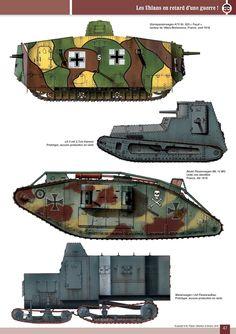 германия Ww1 History, Military History, Ww1 Tanks, Ww1 Soldiers, Military Weapons, Military Equipment, World War One, German Army, Panzer
