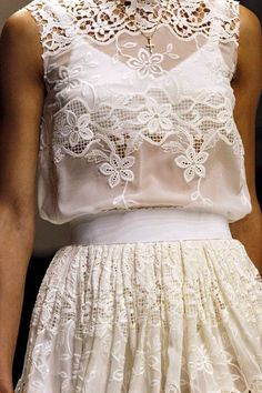 The Realm of Fashion Blog: I Love Lace. Il pizzo.- Dolce e Gabbana