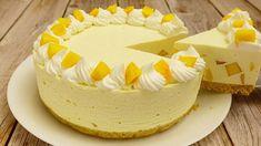 Персиковый Торт Суфле Без Выпечки 🍑 - YouTube Party Desserts, No Bake Desserts, Peach Cake, Cheesecakes, Amazing Cakes, Vanilla Cake, Mousse, Cake Recipes, Cooking Recipes