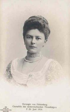 Sophiechotek1868-2 - Sophie Chotek von Chotkowa – Wikipedia