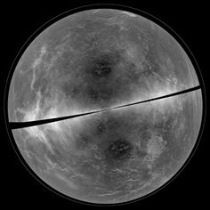 Una de las imágenes más nítidas de Venus, y captada desde la Tierra