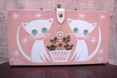 Enid Collins Original Wooden Box Bag  Rare by LittleTinyVintage.  I will own this some day!