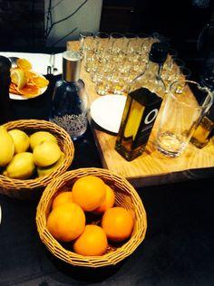 Alles steht bereit für die Party bei der #TGLE Berlin von Olivenöle aus Spanien.