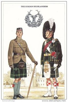 British; The Gordon Highlanders, Regiment Sergeant Major & Badmaster