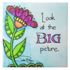 Art Fantaisiste, Hand Lettering Art, Flower Doodles, Doodle Flowers, Art Journal Inspiration, Journal Ideas, Whimsical Art, Big Picture, Rock Art