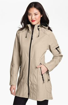 Ilse Jacobsen Hornbaek Hooded Raincoat available at #Nordstrom - Black or Green