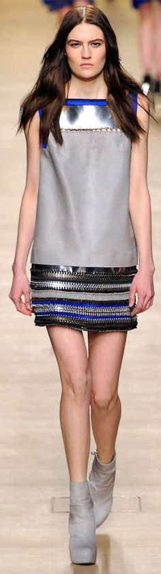 ✪ Paco Rabanne - Ready-to-Wear - Fall-Winter 2012-2013 ✪ http://www.smartologie.com/2012/03/paco-rabanne-fall-2012-paris-fashion.html