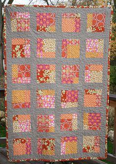 autumn squares quilt