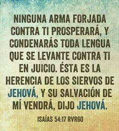 Dios te defendera y cuidara de ti, no temas! <3