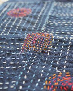 sashiko embroidery                                                                                                                                                                                 More