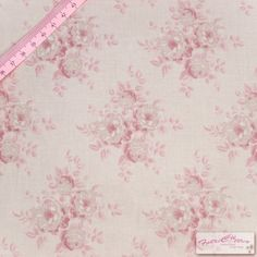 Tilda Mina Pink Fabric / Summer Fair Collection   by FabriClutter, £4.59