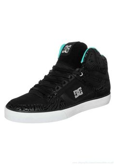 7ae63090125 Dc Shoes Spartan Hi Wc Womans Sale Se High-Top Trainers Black Aqua -  Cody DC112A028