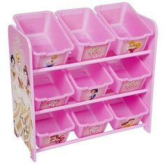 Best prices and selection of toy bin organizers with detailed descriptions. Disney Princess Room, Girls Princess Room, Princess Toys, Toy Bin Organizer, Toy Room Organization, Disney Furniture, Toy Bins, Disney Nursery, Daughters Room