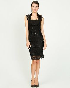 Lace Band Cocktail Dress - I NEED this!
