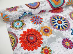 Abstract Flowers - 280cm - Colectie limitata!!!
