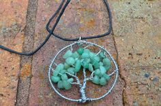 Wire Wrapped Tree Of Life Pendant