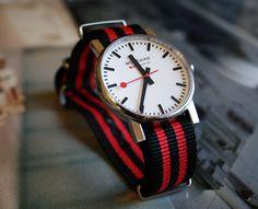 "Mondaine watch + ""Bond"" nato strap by Tomas Possenti"