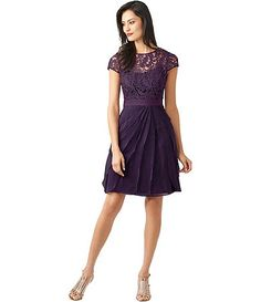 Available at Dillards.com #Dillards This dress would be so amazing to wear in my friend's wedding in March