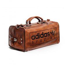 quality design cde9f c72e5 adidas SPZL SS16 AJ8827 Spezial Bag BrownBlack Mens Brown