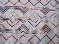 Swedish Weaving Stroller Blanket