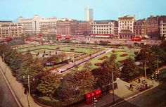 Piccadilly Gardens.
