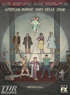 'American Horror Story': First Look at Freak Show Cast Art (Exclusive) - Hollywood Reporter
