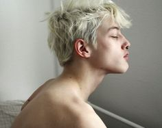 white hair boy tumblr - Google Search