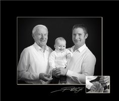 #generations #FatherSonGrandson #blackandwhite #family
