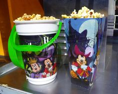 We must get a bucket or two of popcorn at Disney World!