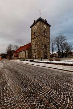 Vår Frue Church Trondheim by Siavash-G